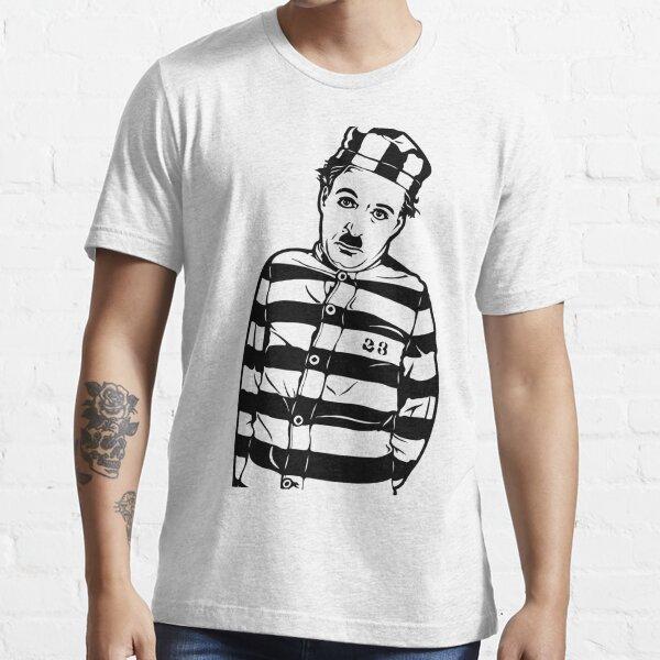 Charlie Chaplin el peregrino, 1923, diseño de carteles, impresiones, carteles, camisetas, bolsos, mujeres, hombres, niños, jóvenes Camiseta esencial