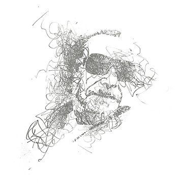 BUKOWSKI - Pencil Scribble by john76