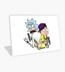 """Rick and Morty™ Rap Mode """"Gettin' Schwifty Wit It"""" Laptop Skin"""