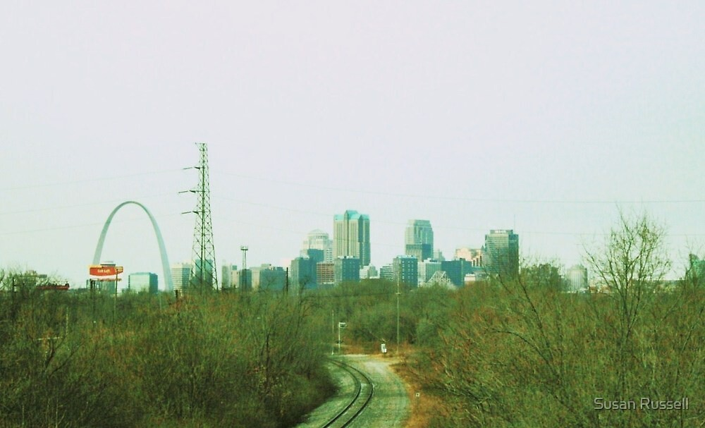 Tracks in St. Louis by Susan Russell