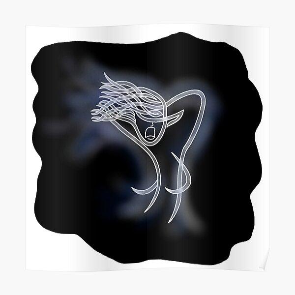 Celtic Knot Bean Sidhe (Banshee) Poster