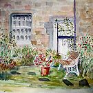 Kirkwelpington water colour by Woodie