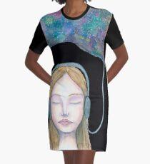 Sound Cloud Graphic T-Shirt Dress