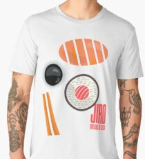 Jiro dreams of sushi, David Gelb, film documentary poster, Sukiyabashi Jiro Ono, japanese chef Men's Premium T-Shirt