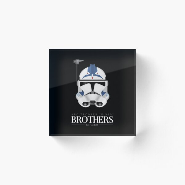 ARC Trooper Fives - Brothers Acrylic Block