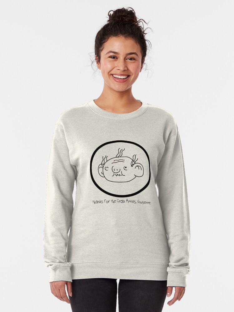 Alternate view of Thanks, Giuseppe Pullover Sweatshirt