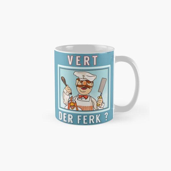 Vert der ferk ?  Swedish Chef Classic Mug