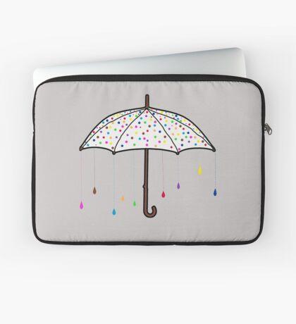 Colorful Rain Umbrella Laptop Sleeve