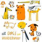 All Dogs are Wonderwoof by Aurora Cacciapuoti