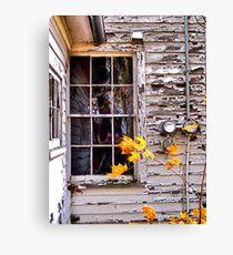 Autumn's Quiet Reflections Canvas Print