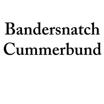 Bandersnatch Cummerbund by punkypeggy