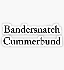 Bandersnatch Cummerbund Sticker