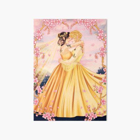 Heline Wedding Art Board Print
