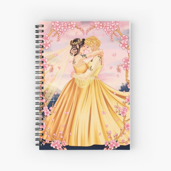Heline Wedding Spiral Notebook