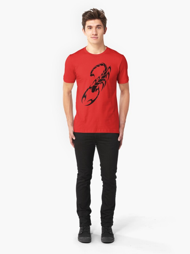 Alternate view of Tribal Scorpion Slim Fit T-Shirt