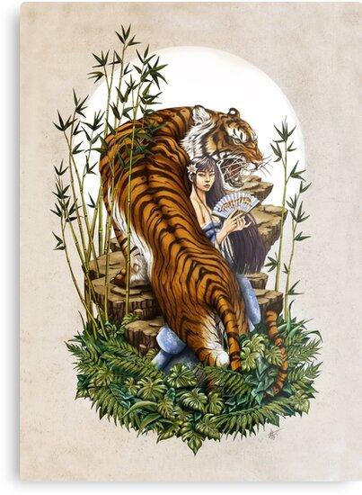 Tiger Spirit by LorenAssisi