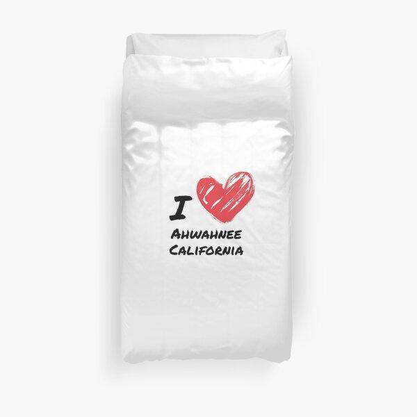 I love Ahwahnee California Duvet Cover