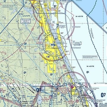 Florida East Coast VFR Sectional by WiltWilde
