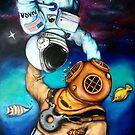 Der Astronaut und der Taucher von Alexandra Thompson
