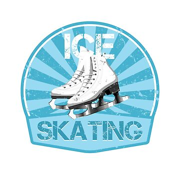 Ice skating retro by S-p-a-c-e