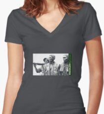 """Vietnam War Memorial"" -   lest we forget Women's Fitted V-Neck T-Shirt"