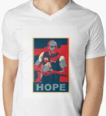 Chris Judd Hope t-shirt Mens V-Neck T-Shirt