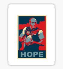 Chris Judd Hope t-shirt Sticker