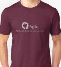 Camiseta unisex Agile Making Life Better