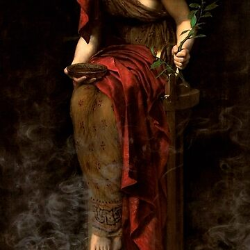 "John Collier ""Priestess of Delphi"" by ALD1"