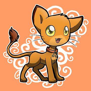Zodiac Cats - Leo by OddworldArt