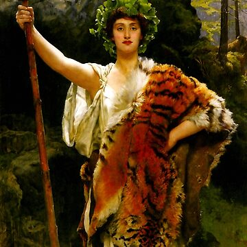 "John Collier ""The Priestess of Bacchus"" by ALD1"