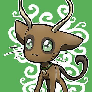 Zodiac Cats - Taurus by OddworldArt