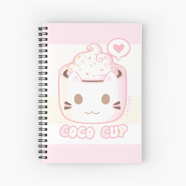 Coco Cup - 2019 Spiral Notebook