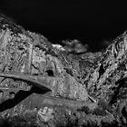 Schöllenen Gorge, Switzerland by PeterCseke