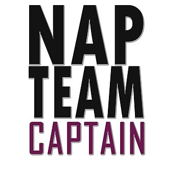 Nap team captain by masonsummer