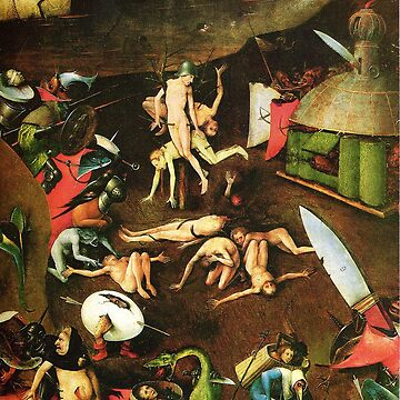 Hell - Hieronymus Bosch by Geekimpact