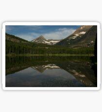 Morning at Fishercap Lake Sticker