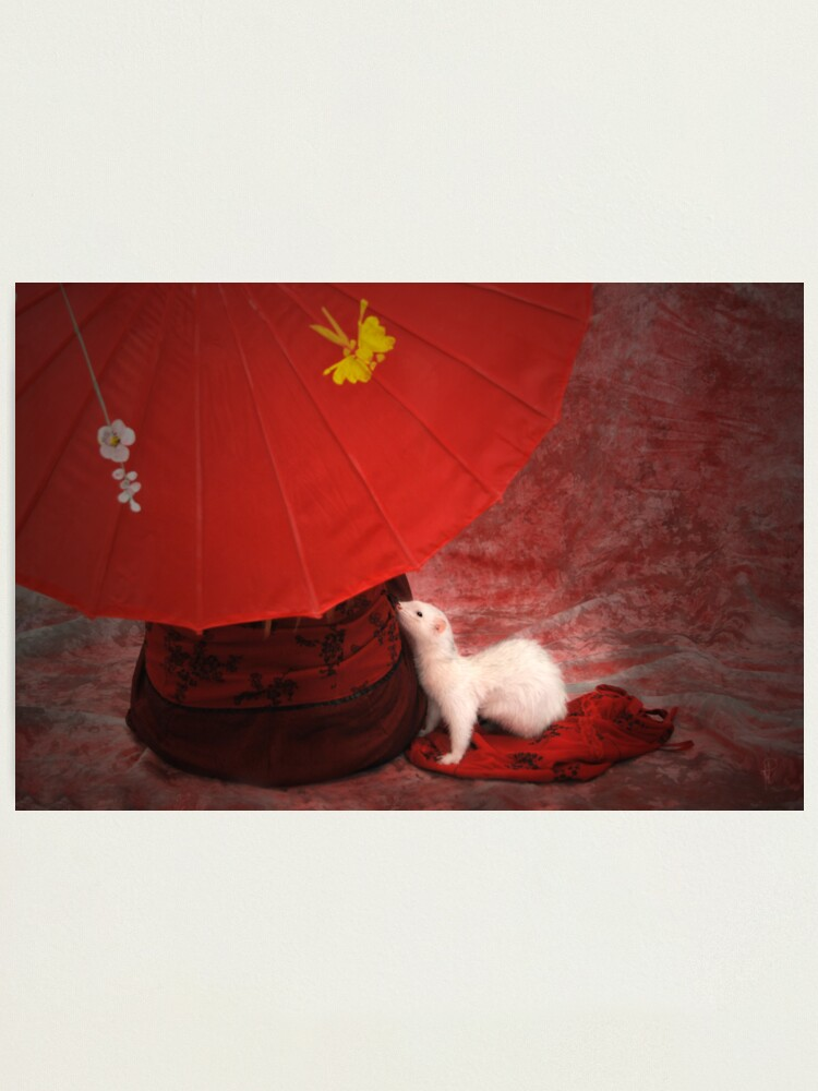 Alternate view of Red Passion Photographic Print