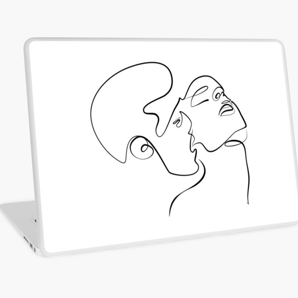 Sensual Kiss Laptop Skin