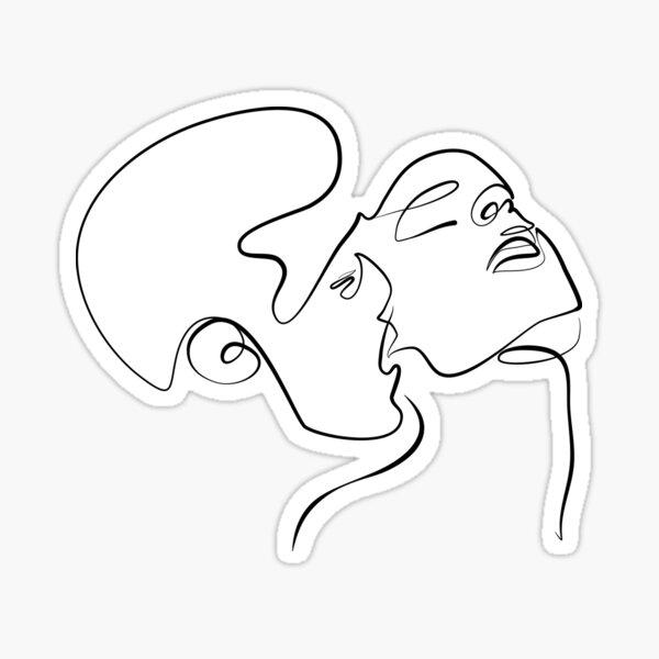 Sensual Kiss Sticker