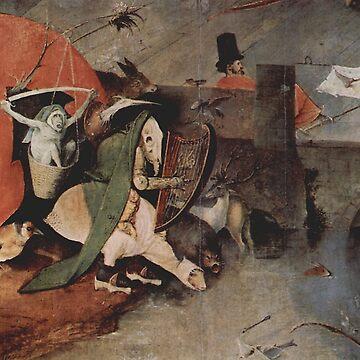 Hell scene - Hieronymus Bosch by Geekimpact