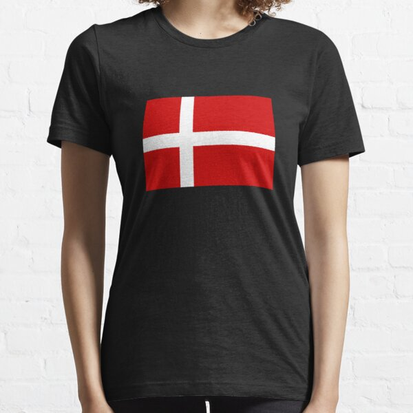 Flag of Denmark Essential T-Shirt