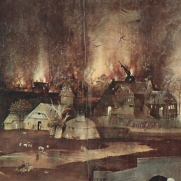Temptation of Anthony in Hell - Hieronymus Bosch by Geekimpact
