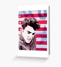 Elvis portrait nº1 Tarjeta de felicitación