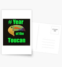 Year of the Toucan! Postcards