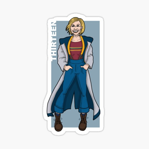 Doctor Who - The Thirteenth Doctor 'THIRTEEN' Sticker