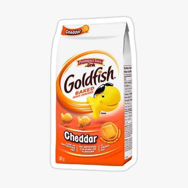 Goldfish crackers Sticker