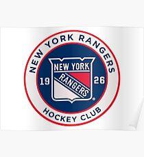 Póster Rangers de Nueva York
