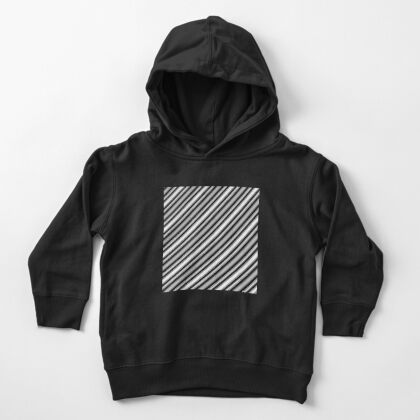Monochrome Pattern 003  Toddler Pullover Hoodie