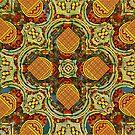 Fractal Flower Pattern 01 by Daniel H Chui